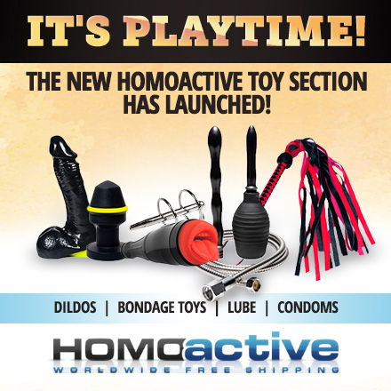 Buy toys on Homoactive.com